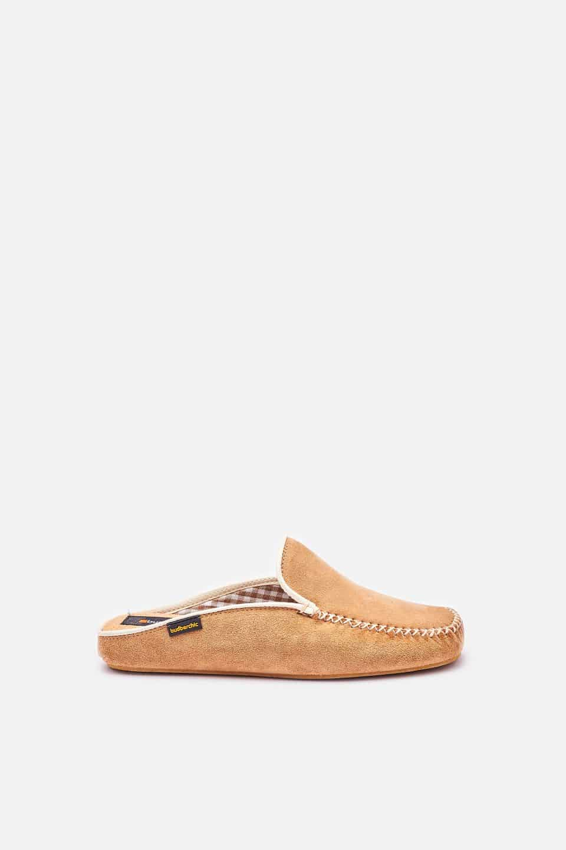 Chinela Kiowa Beig Slippers en Loyna Shoes