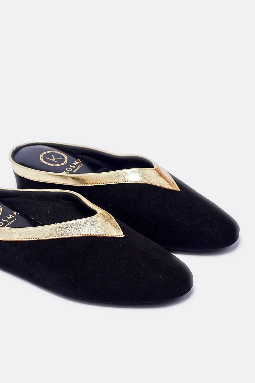 ZUECO CUÑA ANTE V.ORO Kosma Menorca en Loyna Shoes