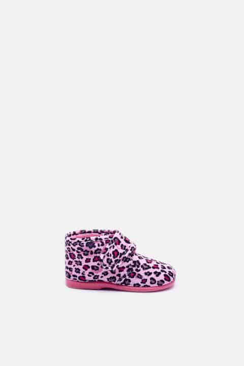 Velcro Leopardo Rosa