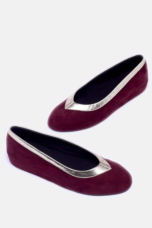Salon Ante Oro Burdeos Kosma Menorca en Loyna Shoes