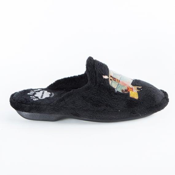 Chinela Mini Negro Slippers en Loyna Shoes