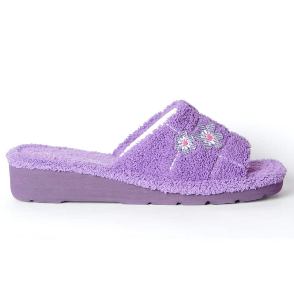 Chinela Toalla Morado Slippers en Loyna Shoes