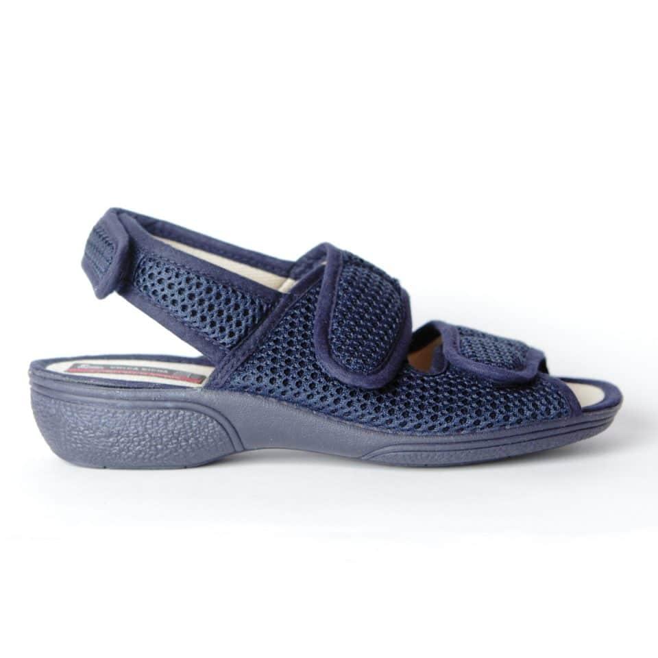 Regilla 3D Marino Slippers en Loyna Shoes