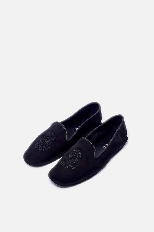 Copete Escudo Negro Homers en Loyna Shoes