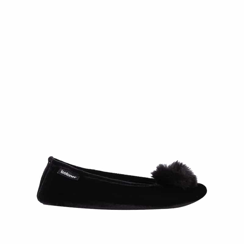Pompon Slippers en Loyna Shoes