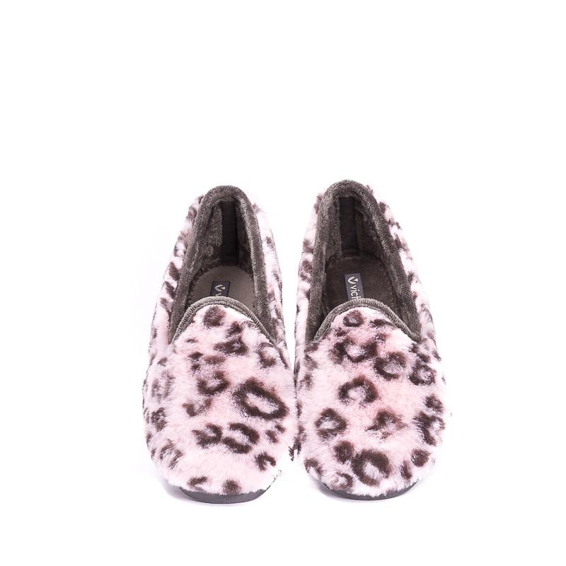 Manchas Rosa Slippers en Loyna Shoes