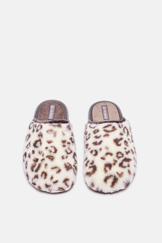 Manchas Blanco Slippers en Loyna Shoes