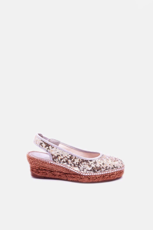 Santillana Plata Alpargatas en Loyna Shoes