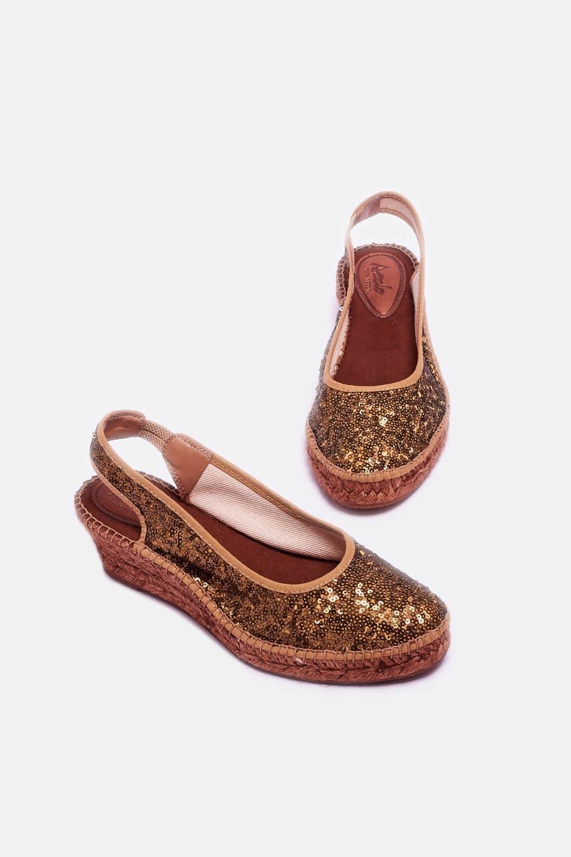 Santillana Cobre Alpargatas en Loyna Shoes