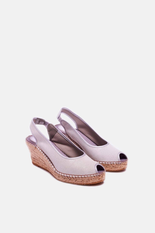 Atenas Plata Alpargatas en Loyna Shoes