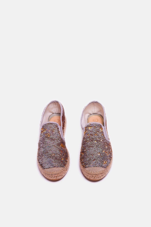 Cangrejo Lentejuelas Alpargatas en Loyna Shoes