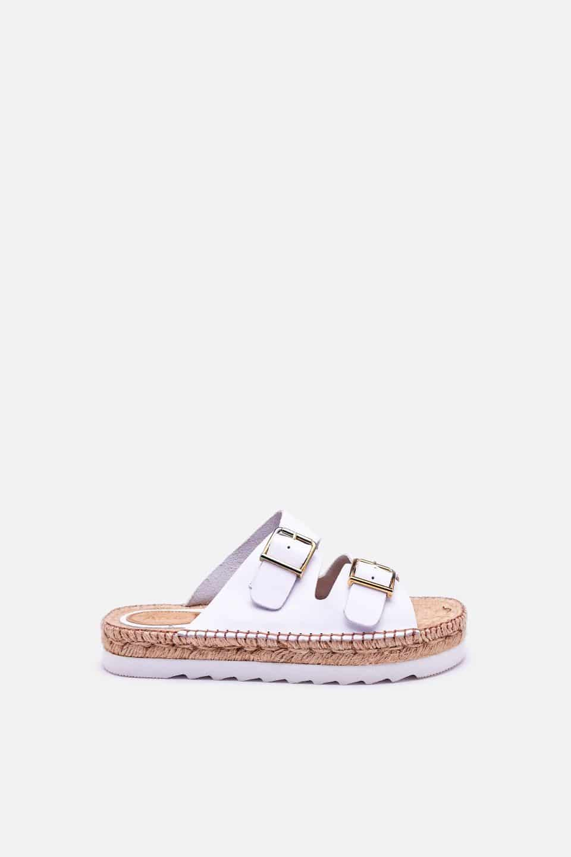 Daroca Blanco Alpargatas en Loyna Shoes