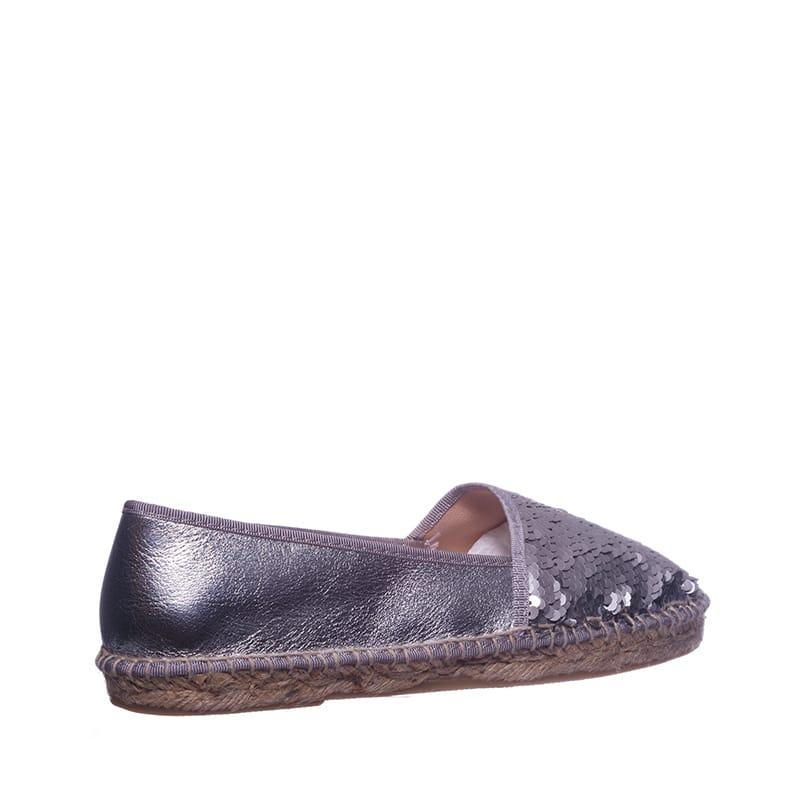 Lepisma Plata Alpargatas en Loyna Shoes