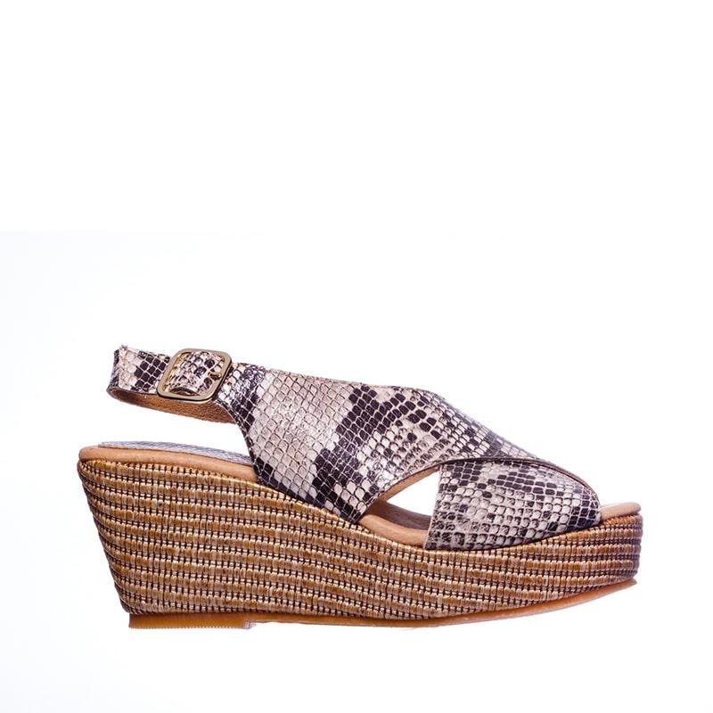Japo Tiras Serpiente Alpargatas en Loyna Shoes