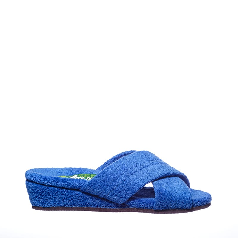 Cruzada Anatomica Azulon Slippers en Loyna Shoes