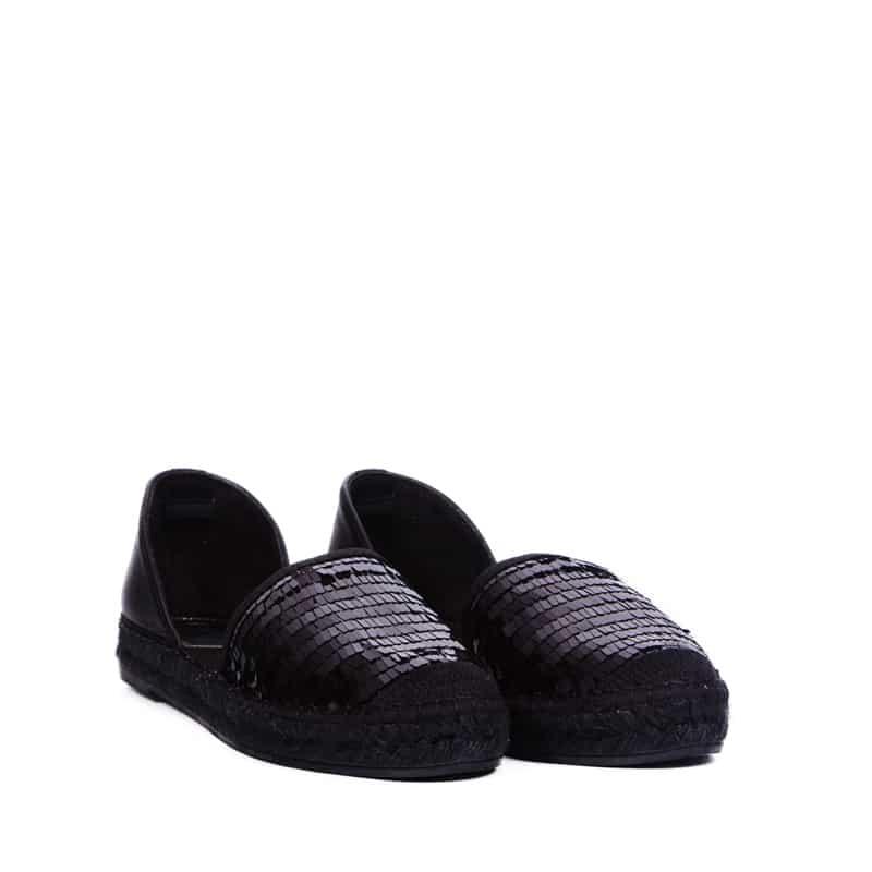 Ibicenca Negro Sin categoría en Loyna Shoes