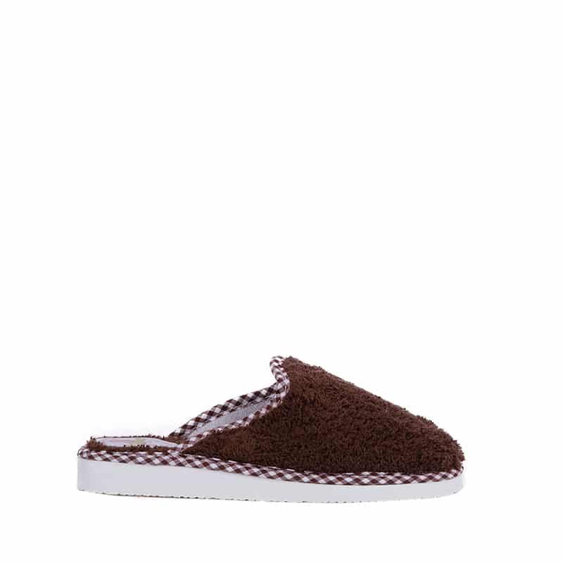 Rizo Marron Slippers en Loyna Shoes