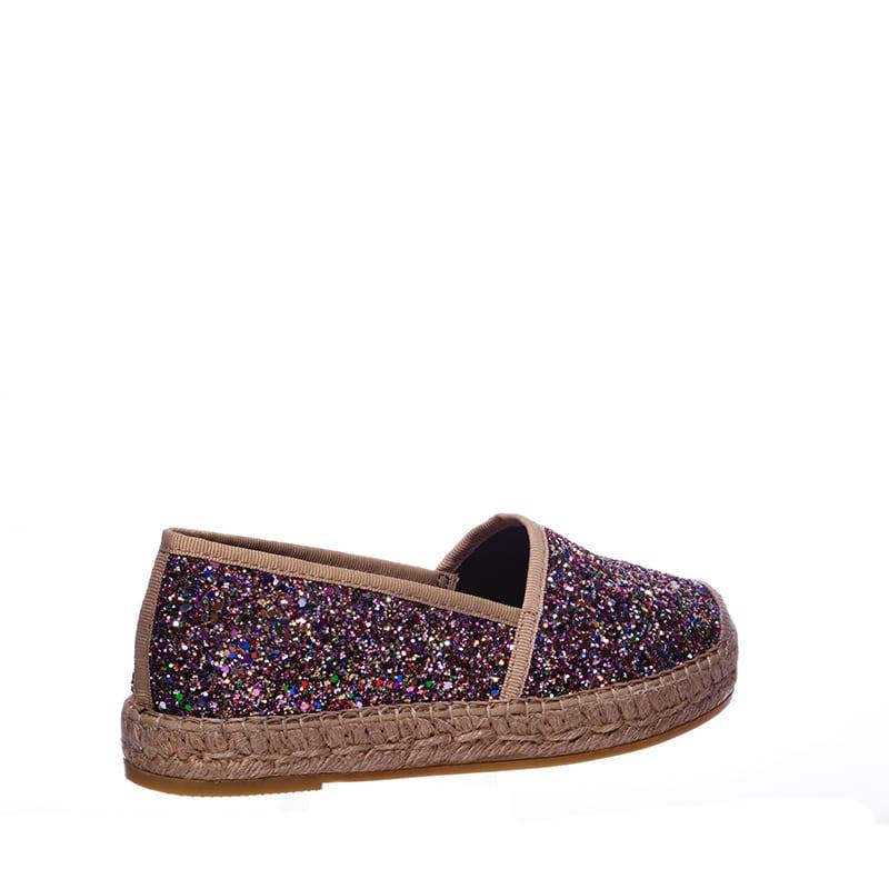 Glitter multicolor Alpargatas en Loyna Shoes