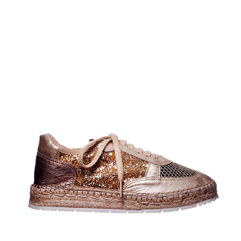 Deportivo Glitter Alpargatas en Loyna Shoes