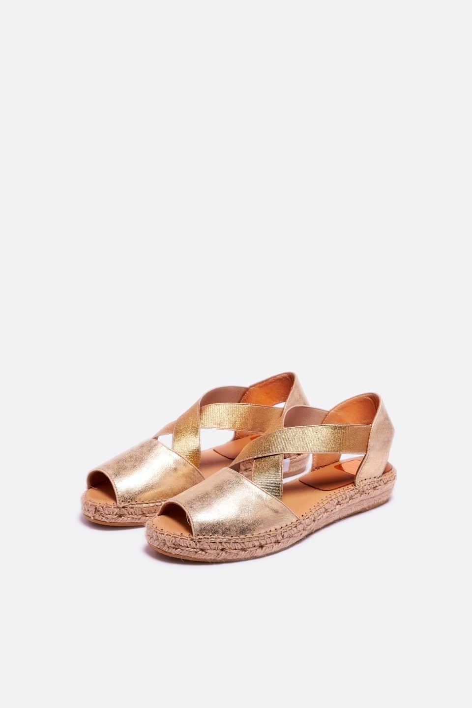 Orion White Alpargatas en Loyna Shoes
