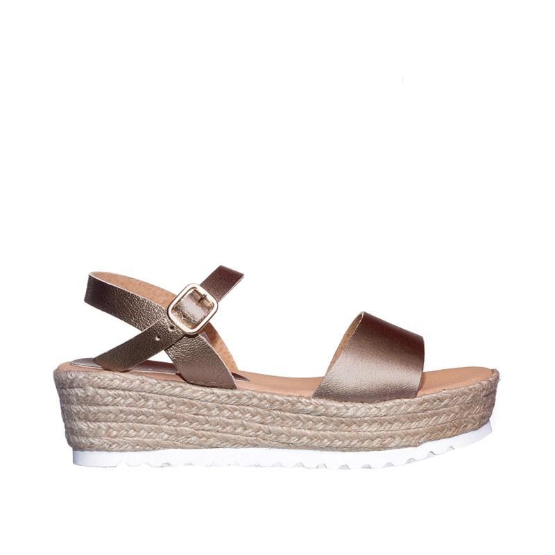 Metal Jazmin Alpargatas en Loyna Shoes