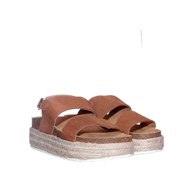 Serraje Muscade Alpargatas en Loyna Shoes