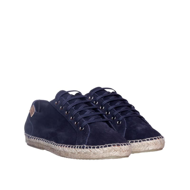 Alpargatas Serraje Marino Alpargatas en Loyna Shoes