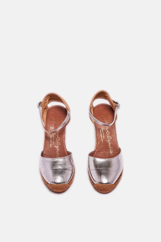 Obi Plata Alpargatas en Loyna Shoes