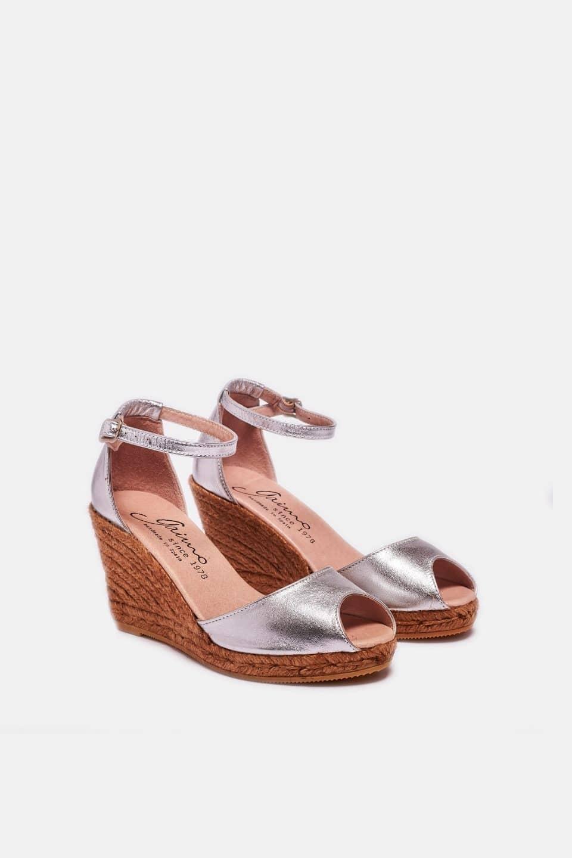 Susan Plata Alpargatas en Loyna Shoes