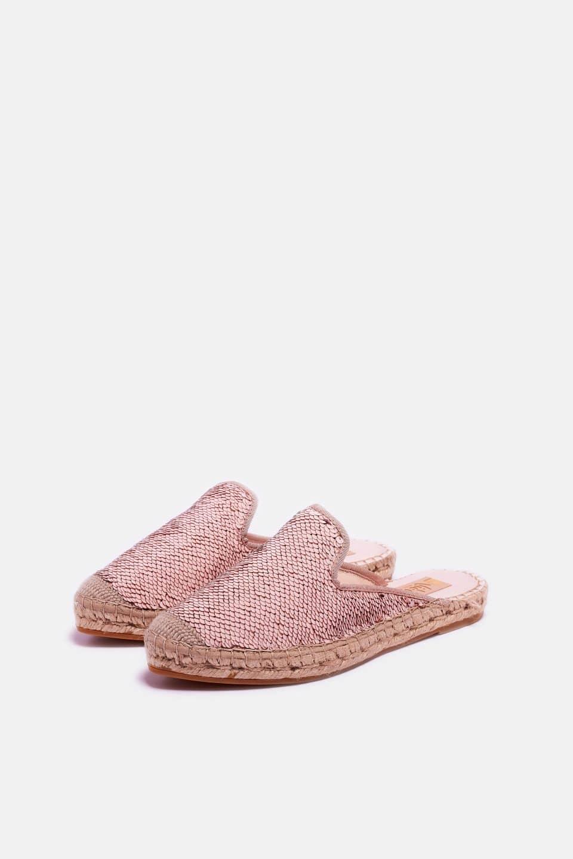 Lentejuela Orion Nude Ibiza Alpargatas en Loyna Shoes