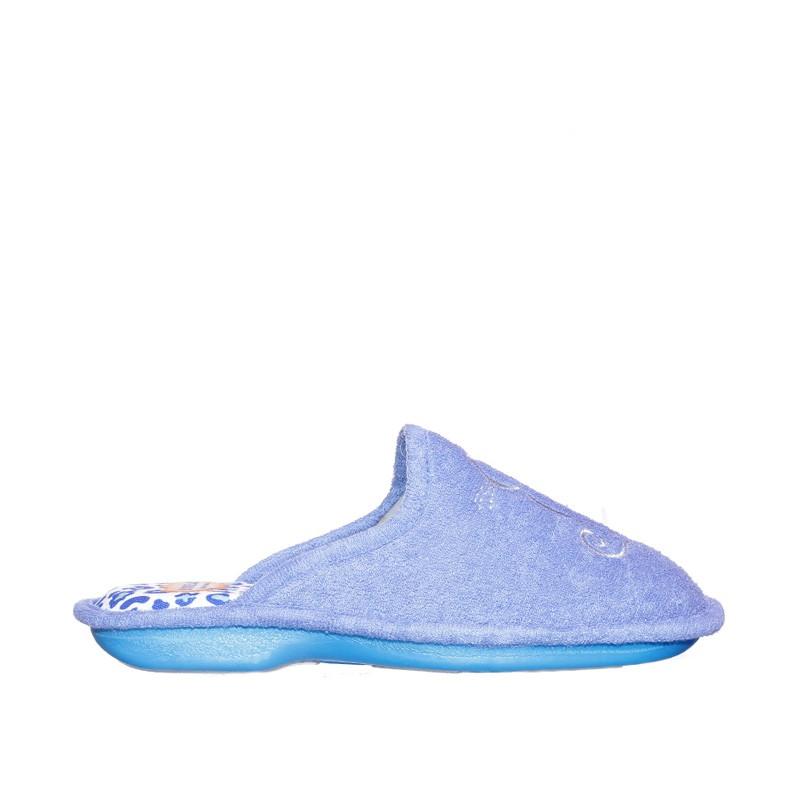 Rizo Onda Indigo Slippers en Loyna Shoes