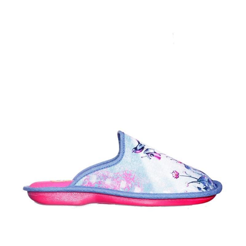 Janeiro Azul Slippers en Loyna Shoes