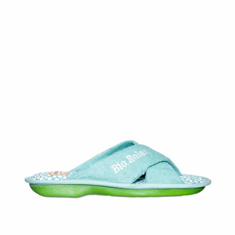 Rizo Onda Aguamar Slippers en Loyna Shoes