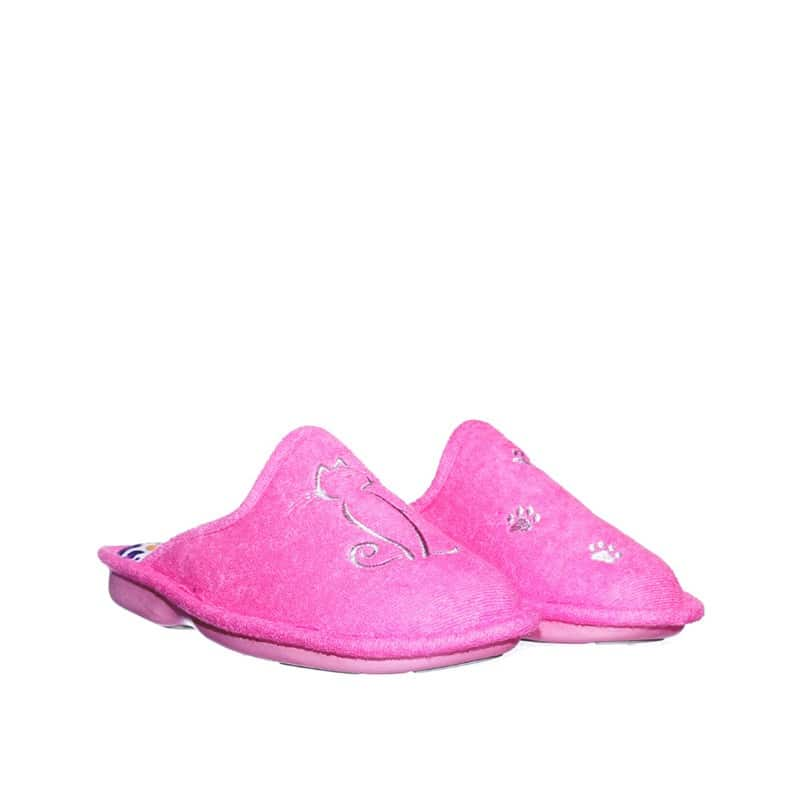 Rizo Onda Rosa Slippers en Loyna Shoes