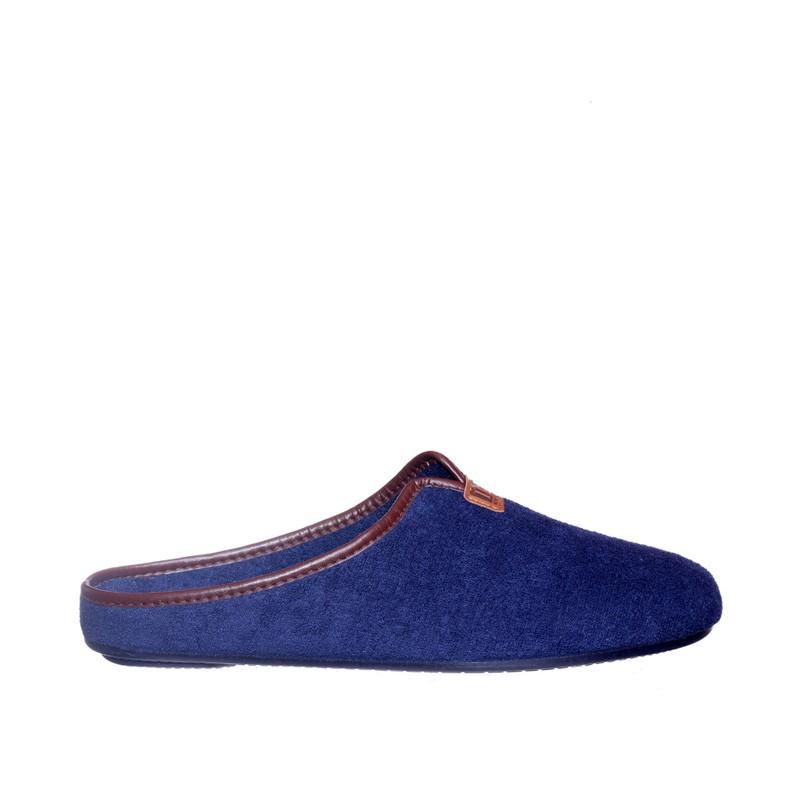 Babucha Rizo Marino Marcas en Loyna Shoes
