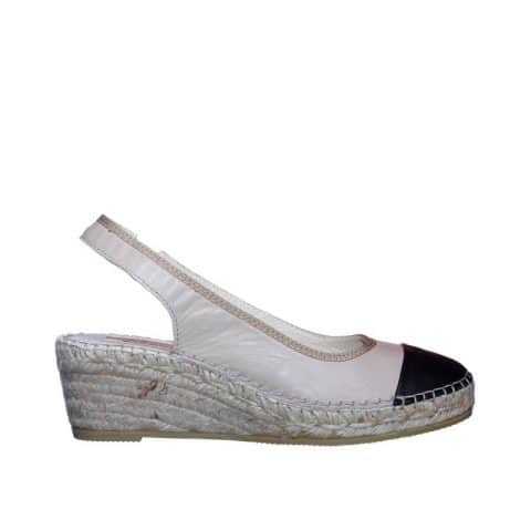Napa Piedra Napa Negro Alpargatas en Loyna Shoes