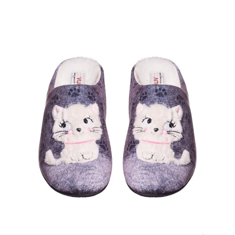 Alaska Zueco Gato Marcas en Loyna Shoes