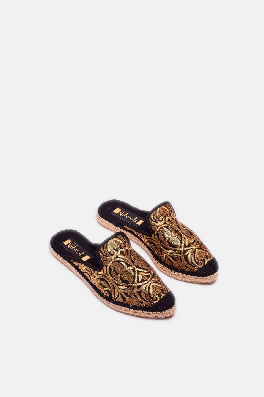 Marraquech Negro Ibiza Alpargatas en Loyna Shoes