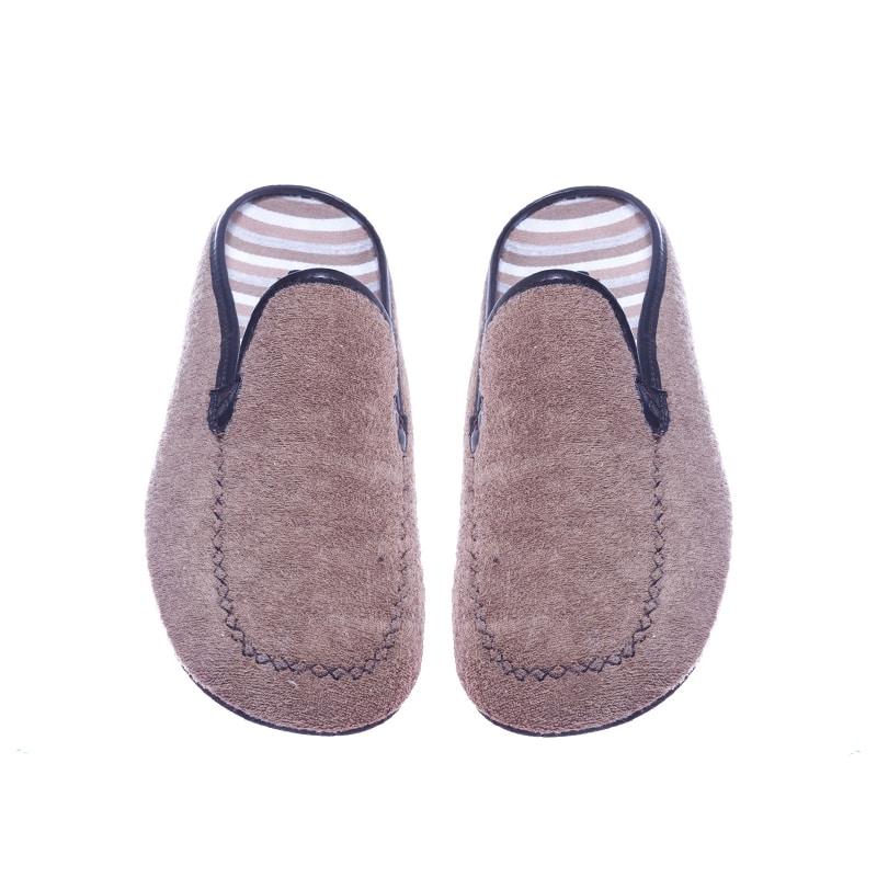 Zueco Kiowa Toalla Taupe Slippers en Loyna Shoes