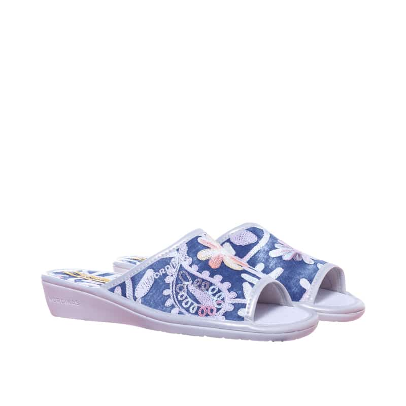 Texas Ribete/Col Plata Marcas en Loyna Shoes