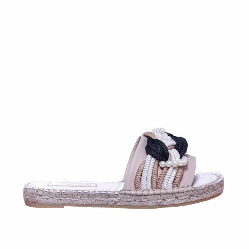Pinqui Napa Piedra Alpargatas en Loyna Shoes