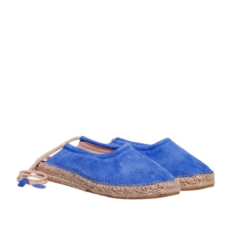 Babucha Cordon Azul Alpargatas en Loyna Shoes