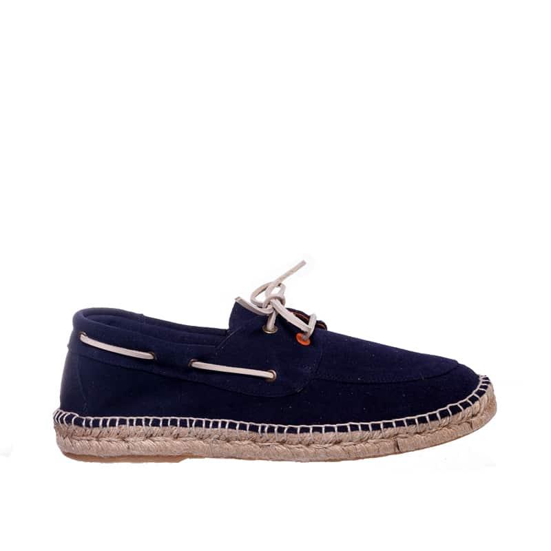 Nautico Piel Marino Abarca en Loyna Shoes