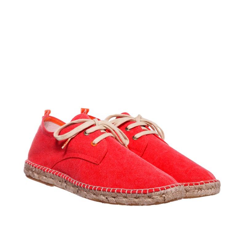 Blucher Terra Rojo Abarca en Loyna Shoes