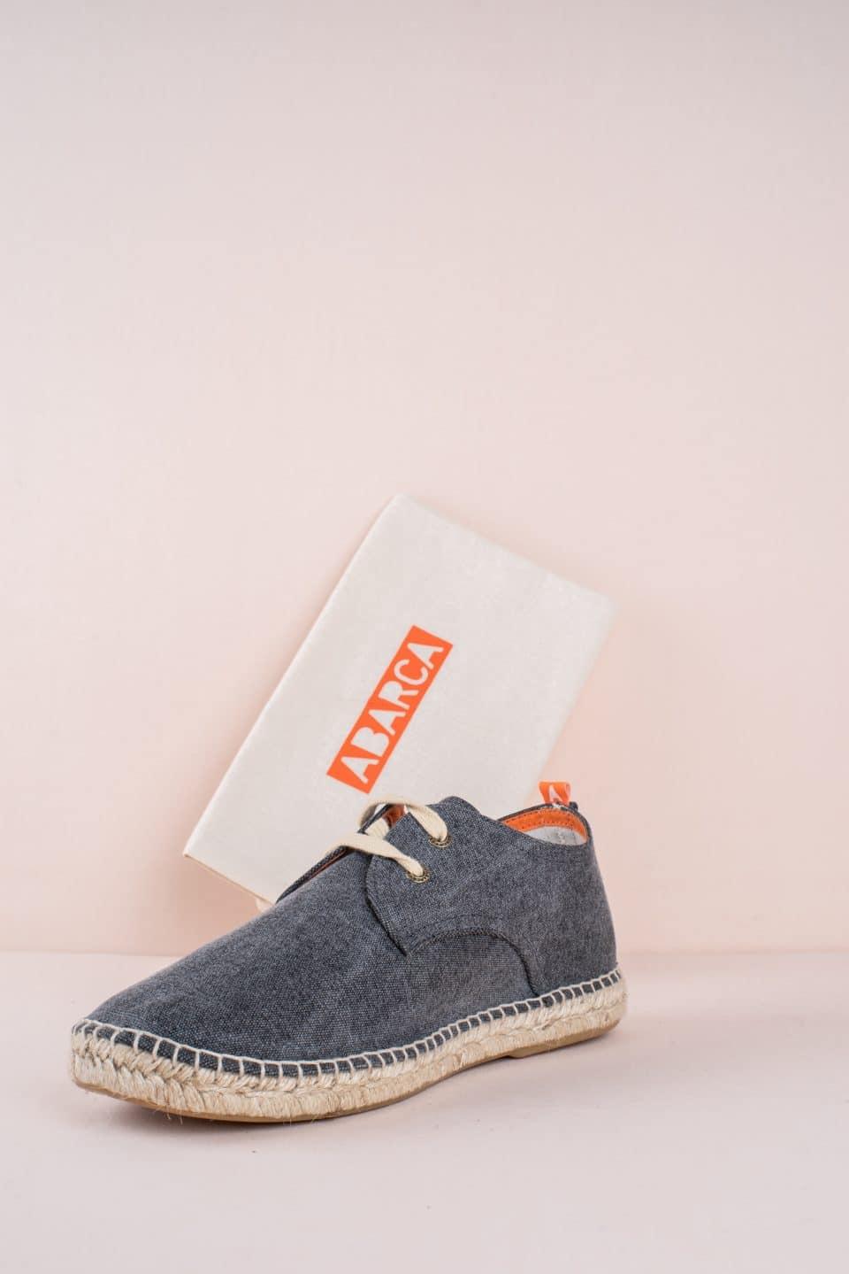 Blucher Terra Negro Abarca en Loyna Shoes