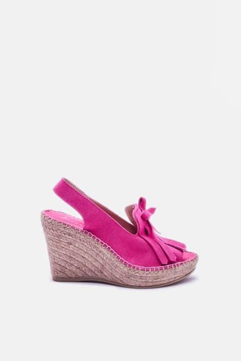 Serraje Flecos  Fuxia Sin categoría en Loyna Shoes
