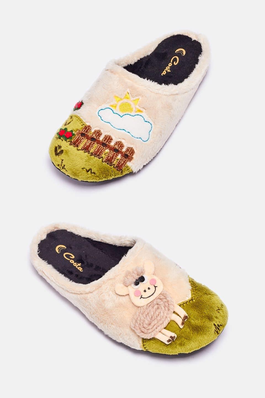 Montbanc Crudo Slippers en Loyna Shoes