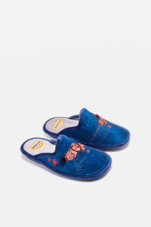 Grenoble Marino Slippers en Loyna Shoes