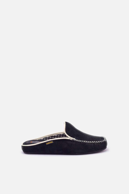 Chinela Kiowa Negro Slippers en Loyna Shoes