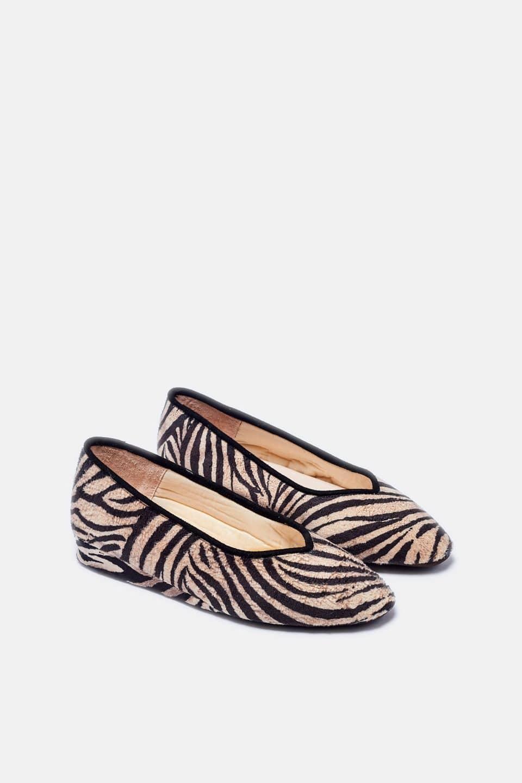 Cebra Beig Guelmi en Loyna Shoes